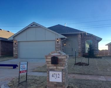 New Home for Sale in Oklahoma City, 4712 Pyrope Lane