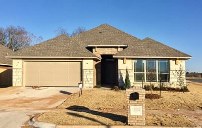 New Home for Sale in Oklahoma City, 13804 Calabria Trail