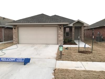 New Home for Sale in Yukon, 10636 SW 30th Street