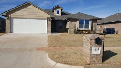 New Home for Sale in Yukon, 1105 Laurel Creek Drive