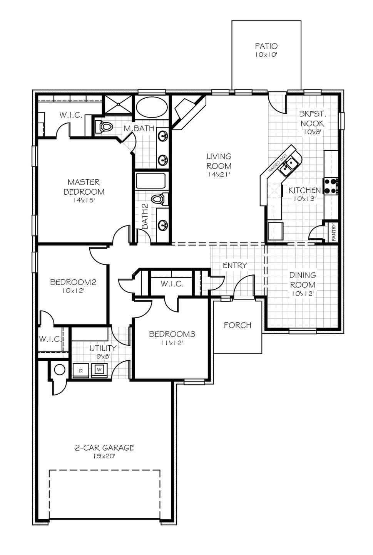 The Williamsburg Plus Elite New Home In Oklahoma City