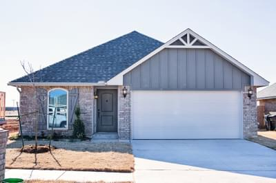 New Home for Sale in Edmond, 4108 NW 154th Street