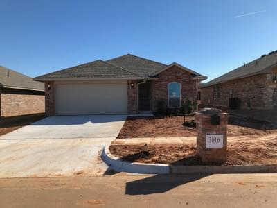 New Home for Sale in Edmond, 3016 NW 182nd Street