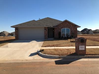 New Home for Sale in Edmond, 3016 NW 183rd Street