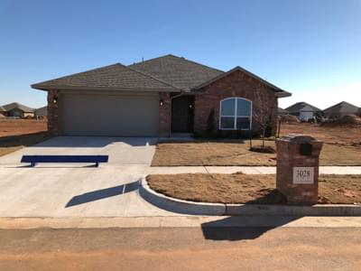 New Home for Sale in Edmond, 3028 NW 183rd Street