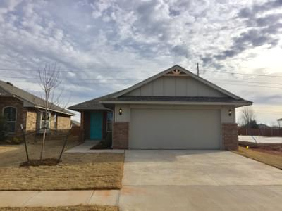 New Home for Sale in Oklahoma City, 4716 Pyrope Lane