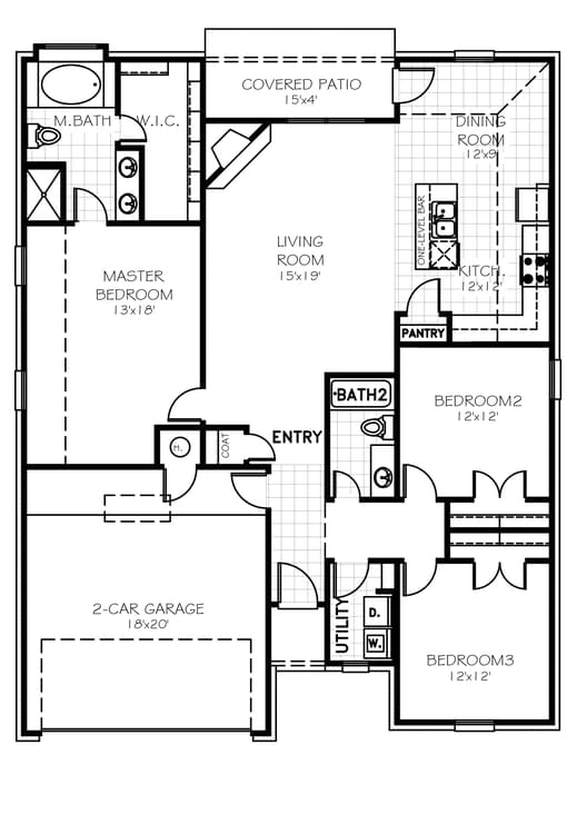 The Andrew Plus Floorplan