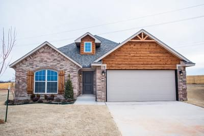 New Home for Sale in Edmond, 15420 Hill Branch Road