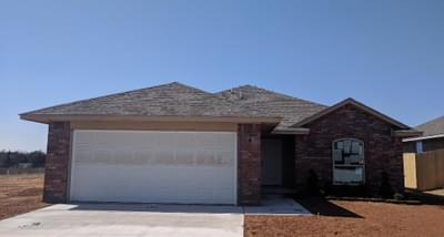 New Home for Sale in Midwest City, 2408 Snapper Lane