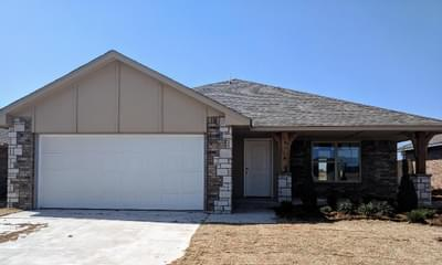 New Home for Sale in Midwest City, 2340 Snapper Lane