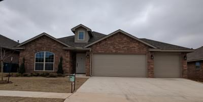 New Home for Sale in Midwest City, 10416 SE 25th Street