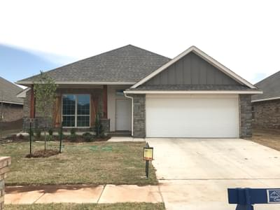 New Home for Sale in Edmond, 2516 NW 193rd Street