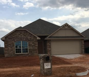 New Home for Sale in Edmond, 3432 NW 160th Street