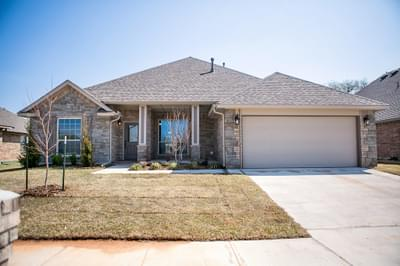 New Home for Sale in Oklahoma City, 13708 Calabria Trail