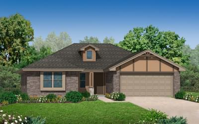 New Home for Sale in Yukon, 1112 Chestnut Creek Drive