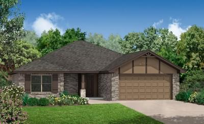 The Carlisle Plus - 3 bedroom new home in Chickasha OK