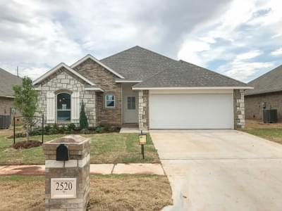 New Home for Sale in Edmond, 2520 NW 193rd Street