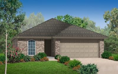 The Aspen New Home in Midwest City, OK