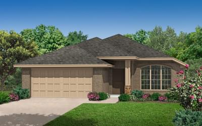 The Waterford New Home in Midwest City, OK