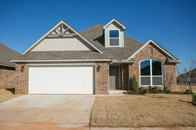 New Home for Sale in Edmond, 4201 NW 154th Street