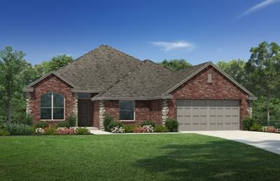 The Opal - 4 bedroom new home in Coweta OK