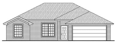 New Home for Sale in Tulsa, 4039 S 148th E Avenue