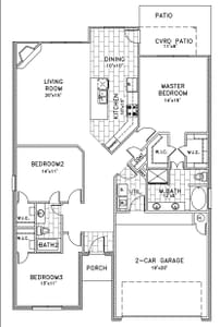 3br New Home in Bixby, OK