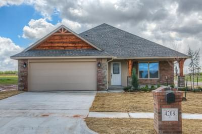New Home for Sale in Edmond, 4208 NW 153rd Street