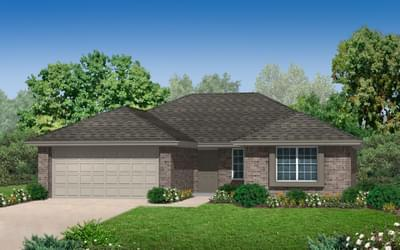 1,423sf New Home in Collinsville, OK