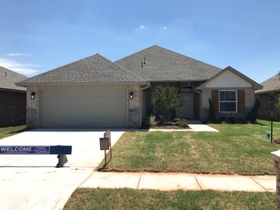 New Home for Sale in Edmond, 3032 NW 183rd Street