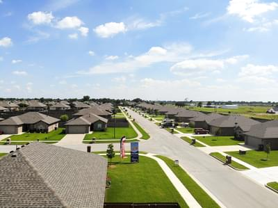 Ashbury Park New Homes in Collinsville, OK