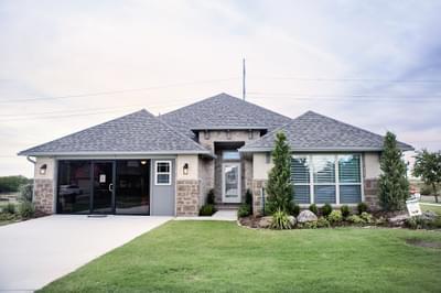 6525 NW 163rd Terrace  Edmond OK new home for sale
