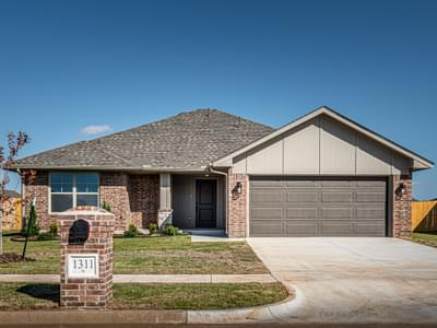 1311 SE 17th Street Newcastle OK new home for sale
