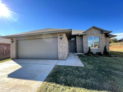11633 SW 8th Circle Yukon OK new home for sale