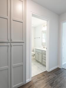 Hallway. 1,876sf New Home