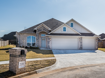 2520 NW 195th Street Edmond OK new home for sale