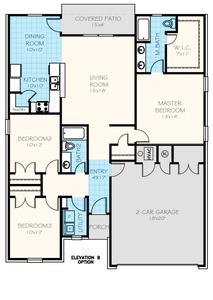 1,416sf New Home in Edmond, OK