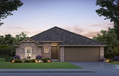 The Andrew - 3 bedroom new home in Midwest City OK
