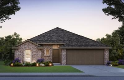 New Home in Edmond, OK Elevation A