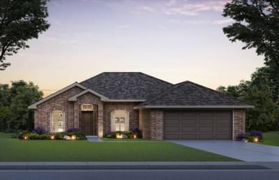 The Brooke - 3 bedroom new home in Midwest City OK