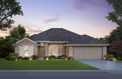 The Lockard - 4 bedroom new home in Midwest City OK