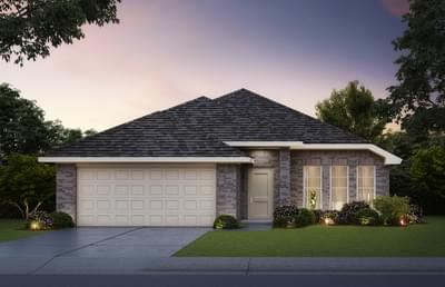 Lynndale Plus Home with 4 Bedrooms Elevation A