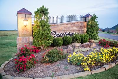 Castleberry Villas community in Edmond OK