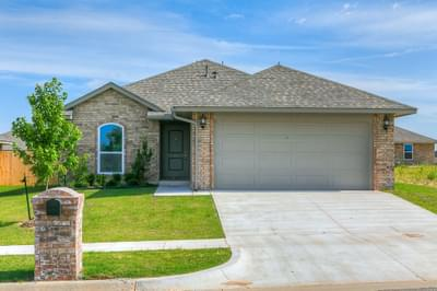 Lexington New Home in Edmond, OK