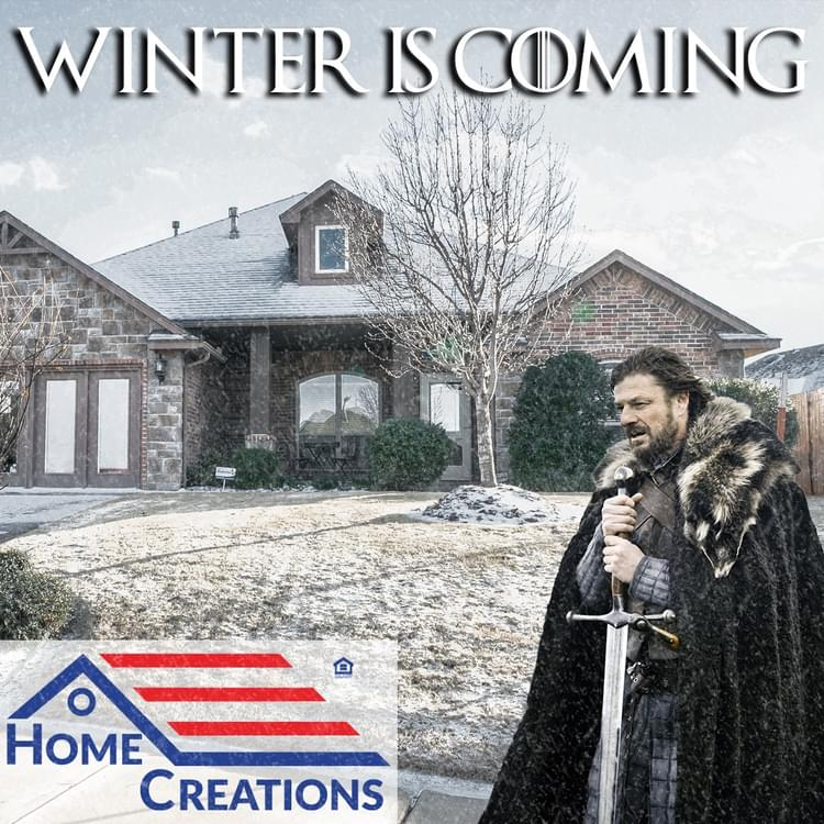 Prepare your home for winter weather
