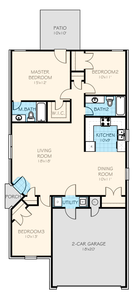 Azalea New Home Floor Plan