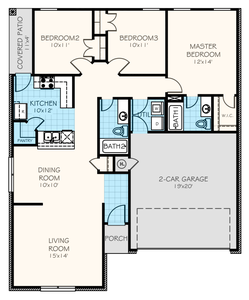 1,327sf New Home