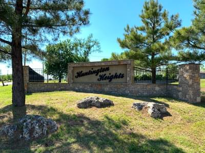 Huntington Heights new homes in Jenks OK