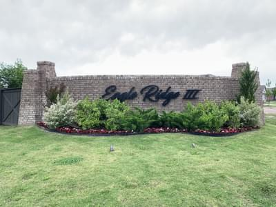 Eagle Ridge new homes in Broken Arrow OK