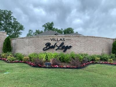Villas at Bel Lago new homes in Broken Arrow OK